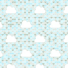 FELT SANTA FE COLLECTION DEBORA RADTKE-FELTRICO CLOUD BLUE